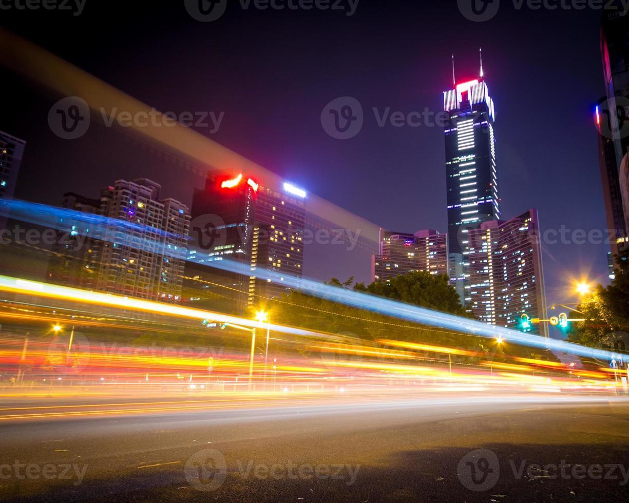 noite de guangzhou foto