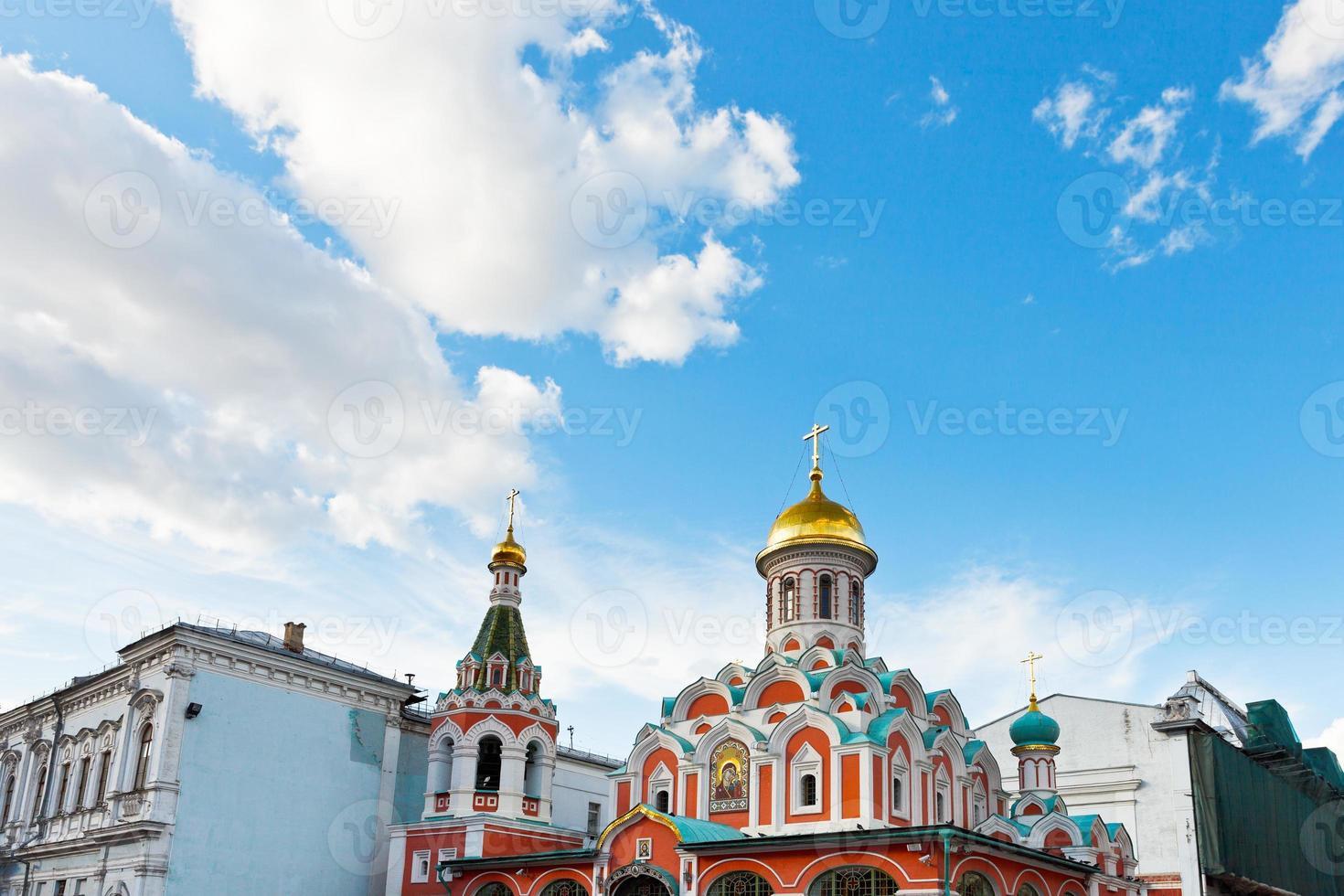 catedral de kazan, moscovo foto