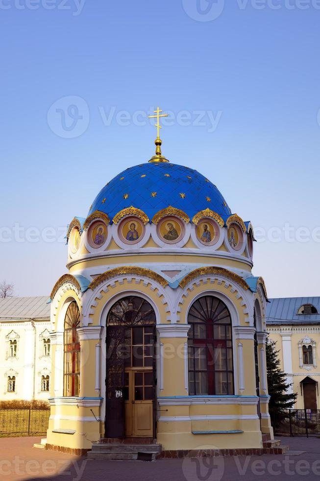 st. mosteiro de nicholas ugreshsky (nikolo-ugreshsky). dzerzhinsky, moscovo, rússia foto