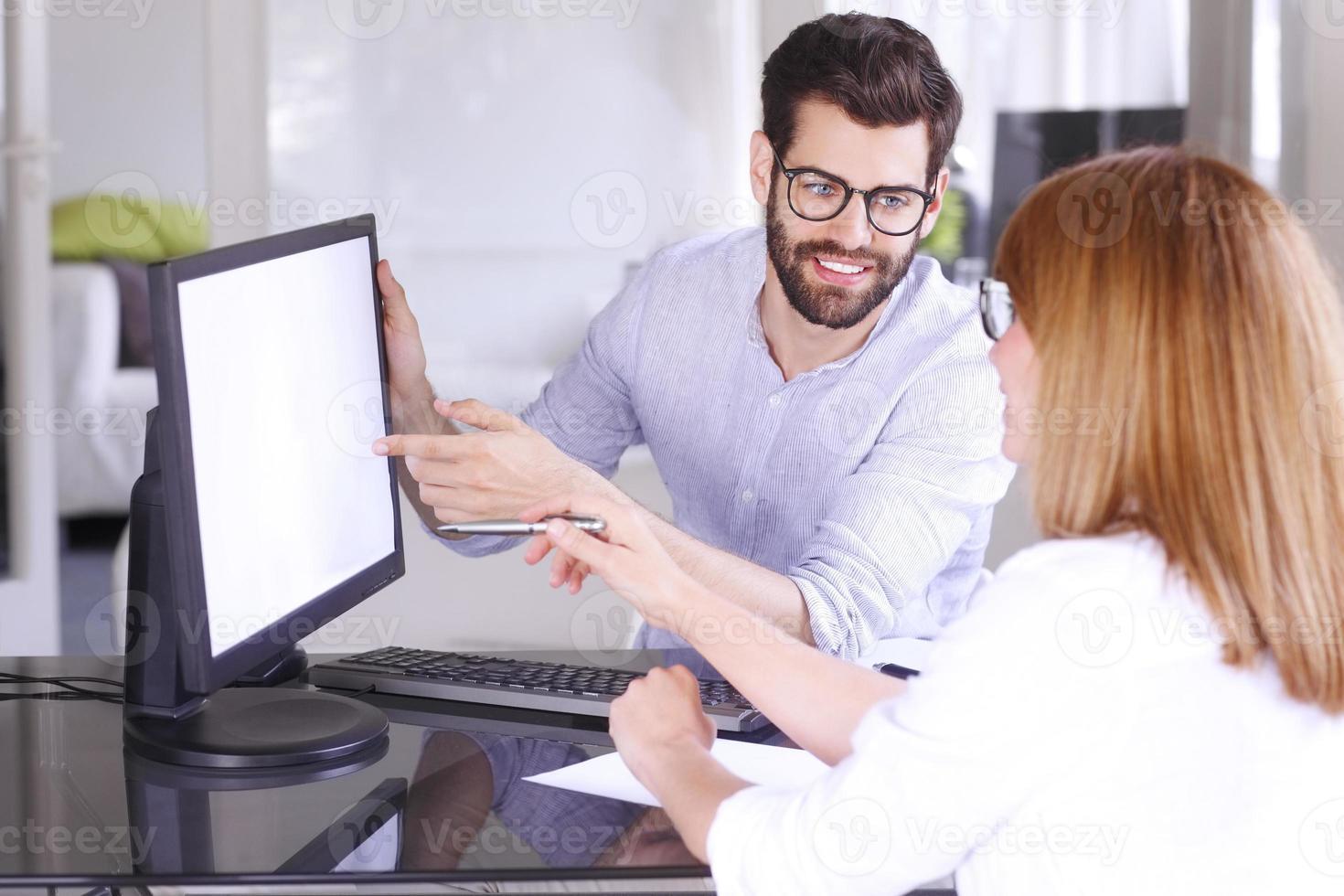 consultoria de pessoas de negócios foto