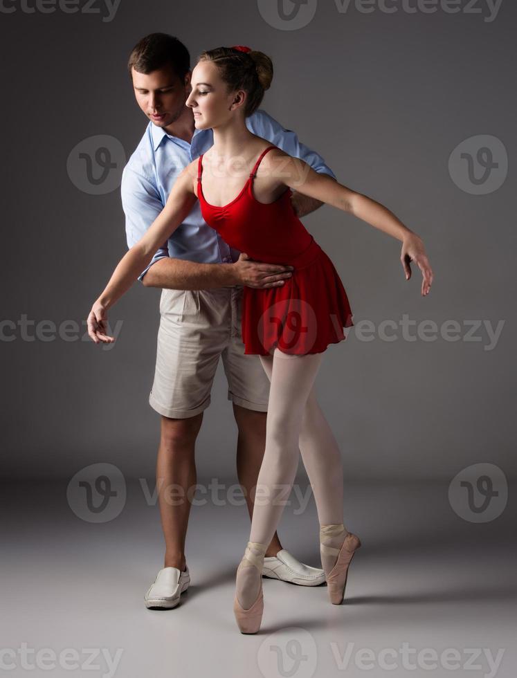 dançarina de balé feminina foto