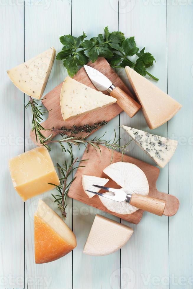 queijo sortido foto