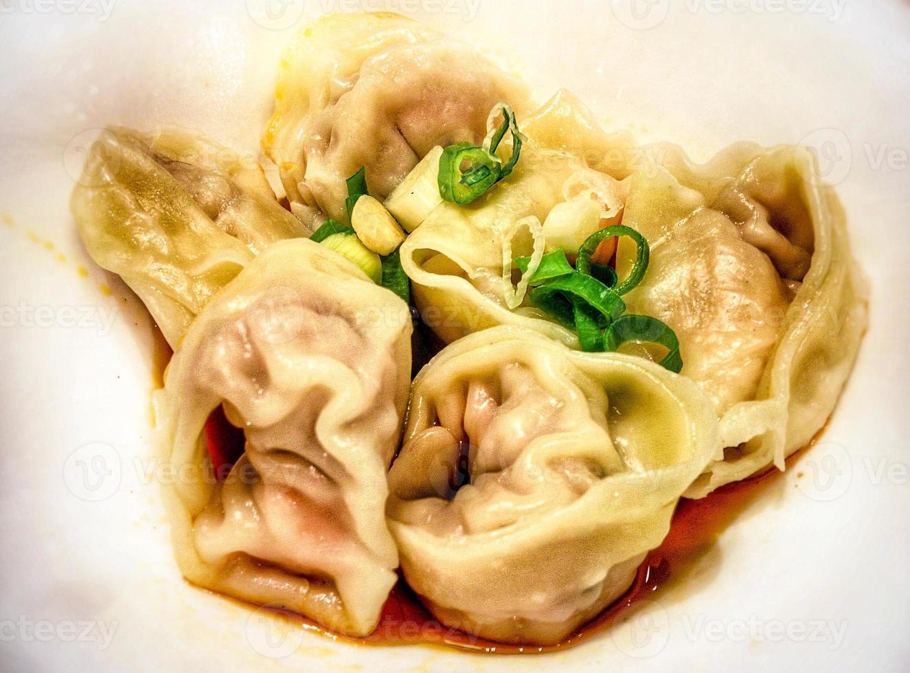bolinhos chineses foto