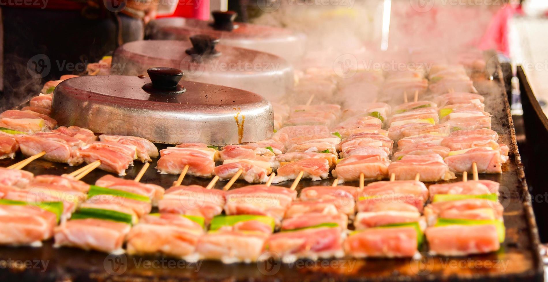 churrasco japonês foto