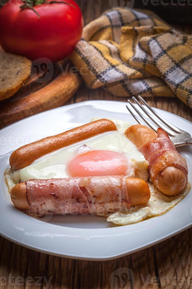 café da manhã. foto