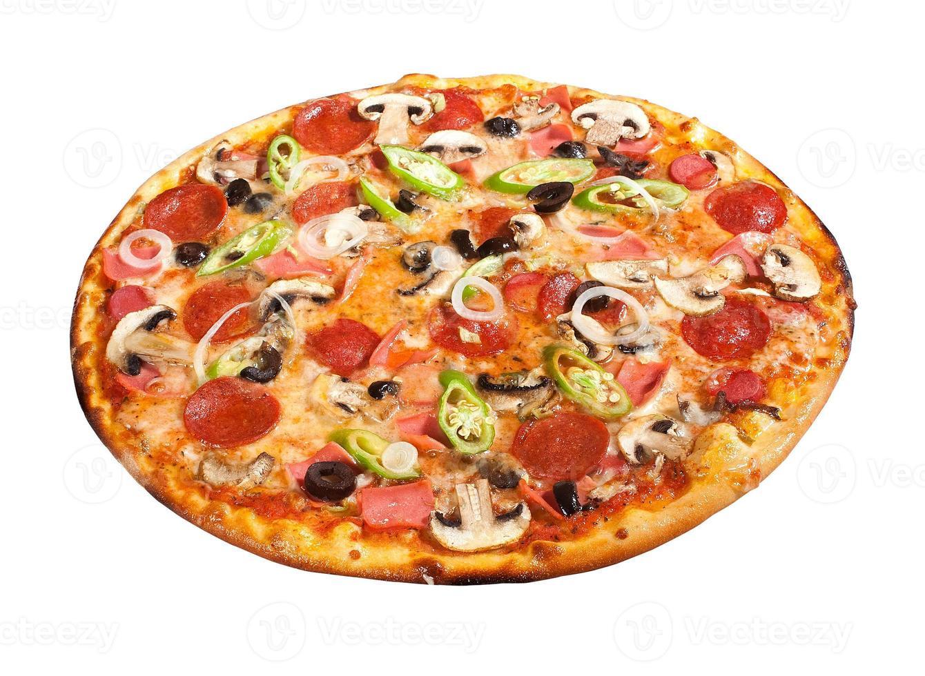 pizza de luxo foto