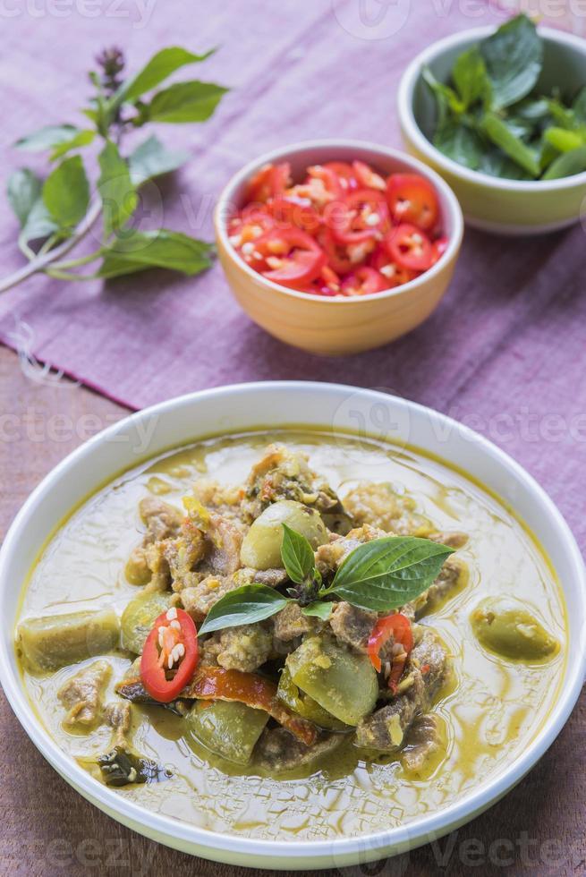 comida asiática tailândia foto