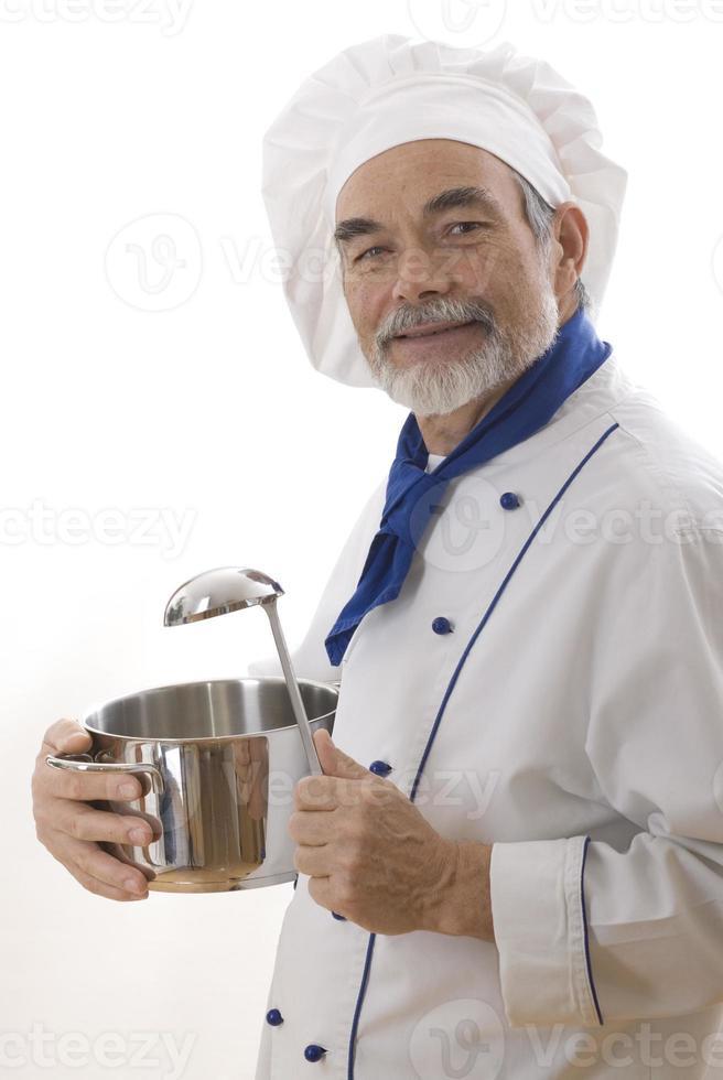 cozinheiro atraente foto
