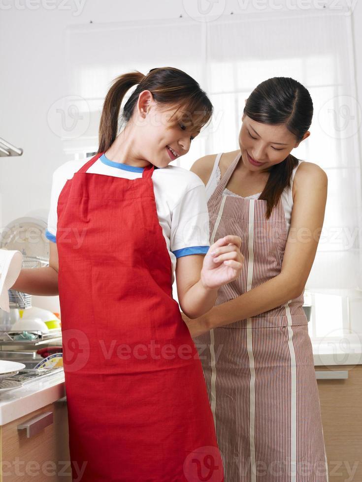 trabalho na cozinha foto