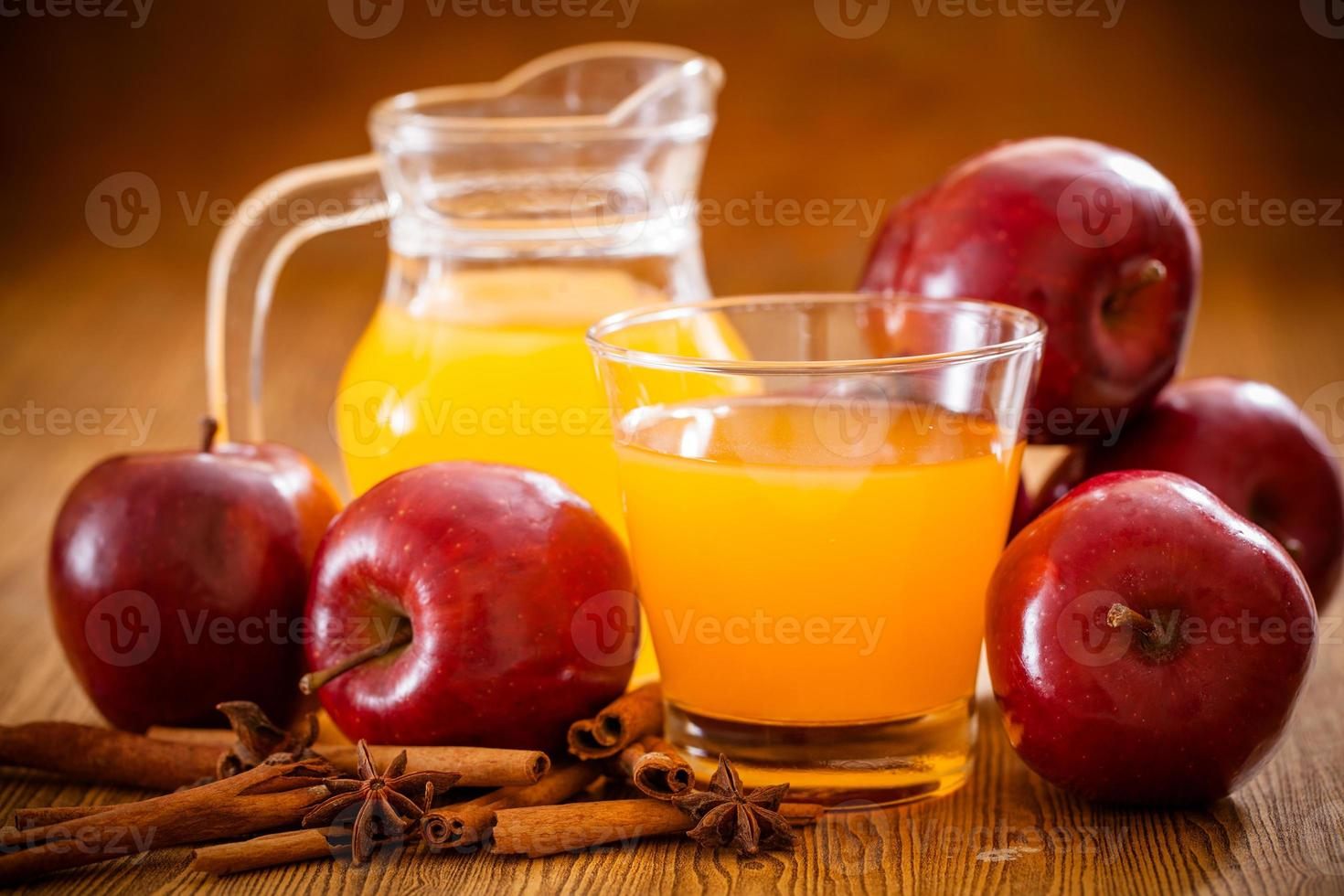 vinagre de maçã foto
