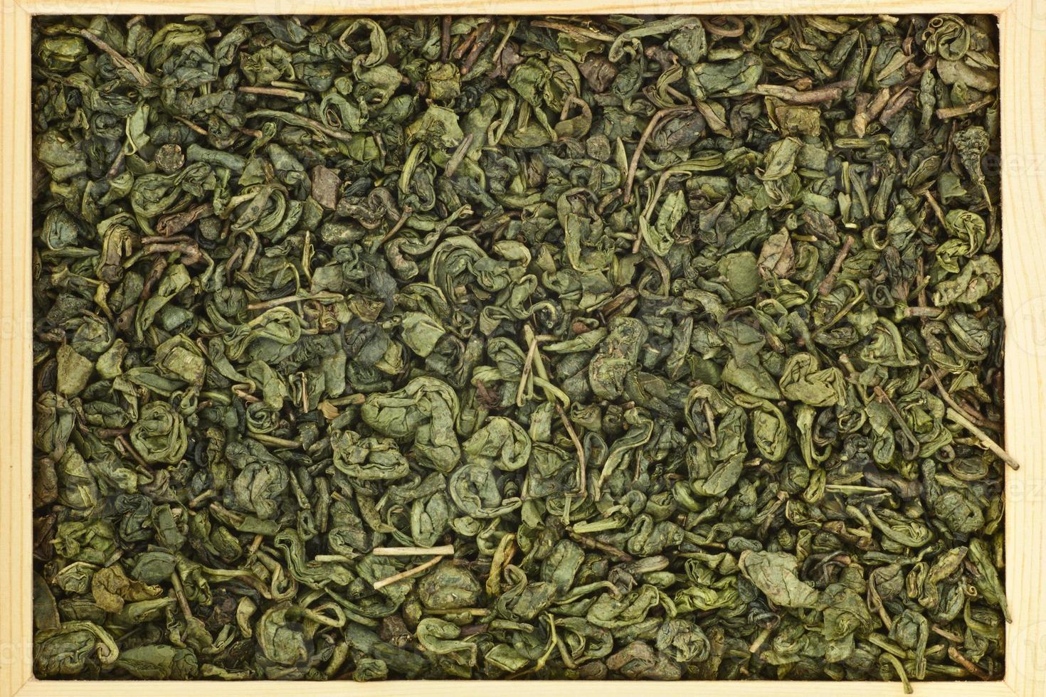 chá verde chinês foto