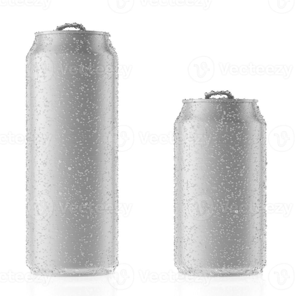 latas de alumínio foto