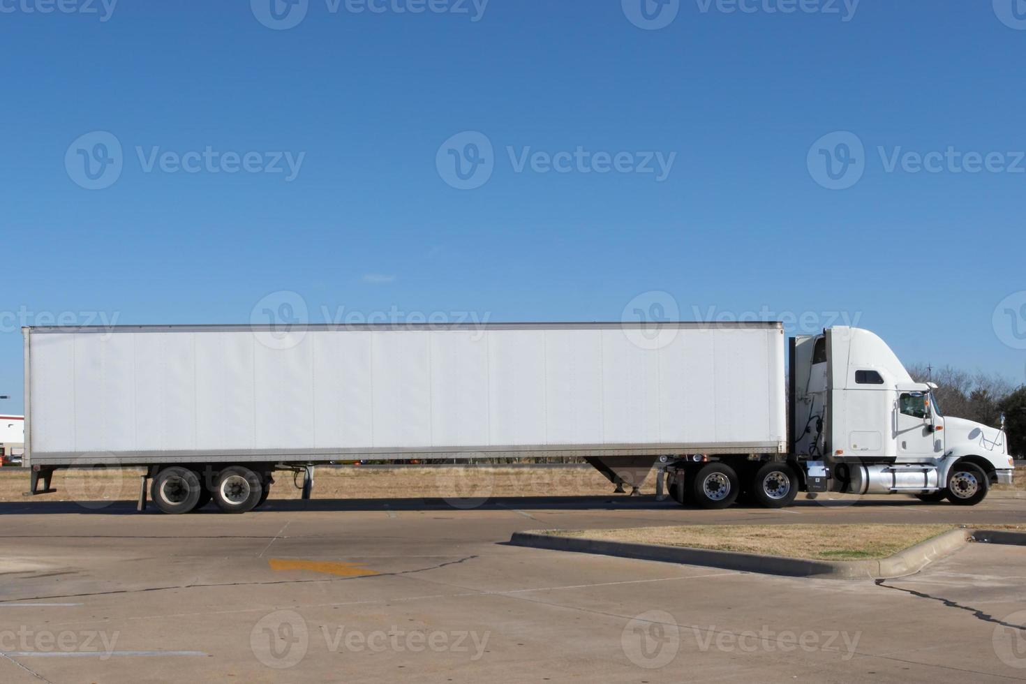 caminhão em branco foto