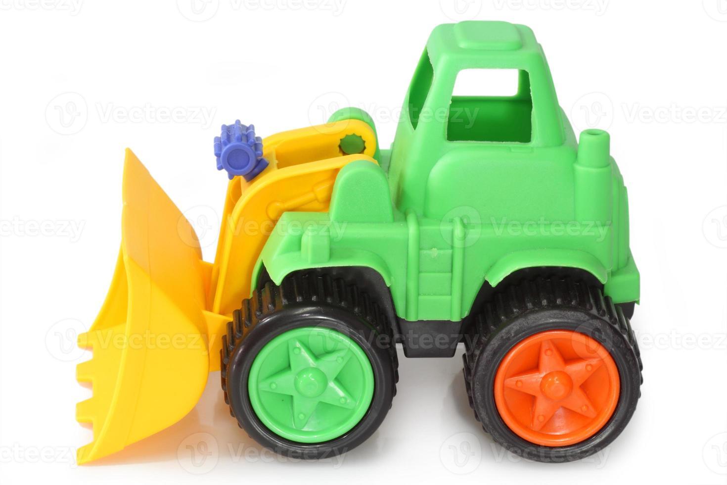escavador de brinquedo foto
