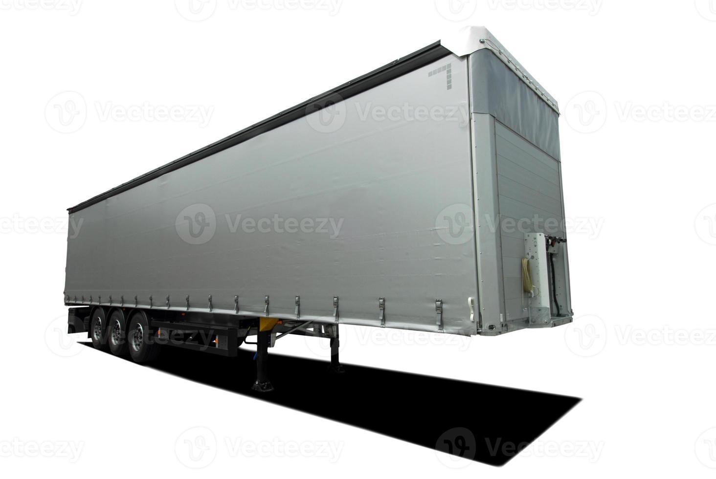 semi reboque caminhão foto