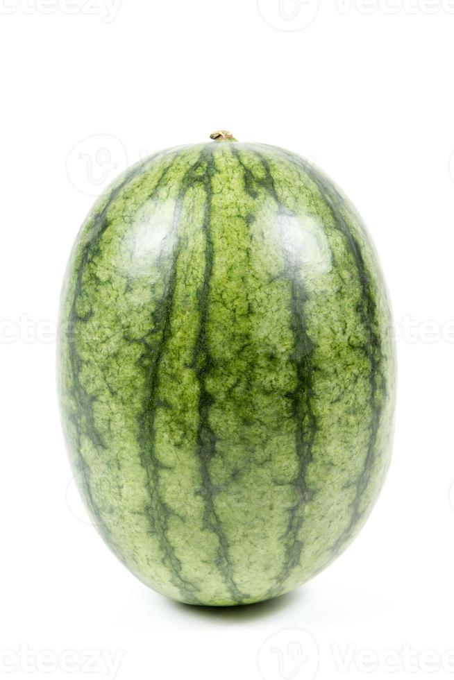 melancia isolada no fundo branco. foto