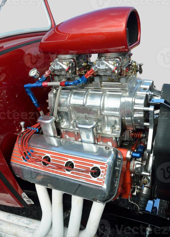 motor de carro personalizado foto