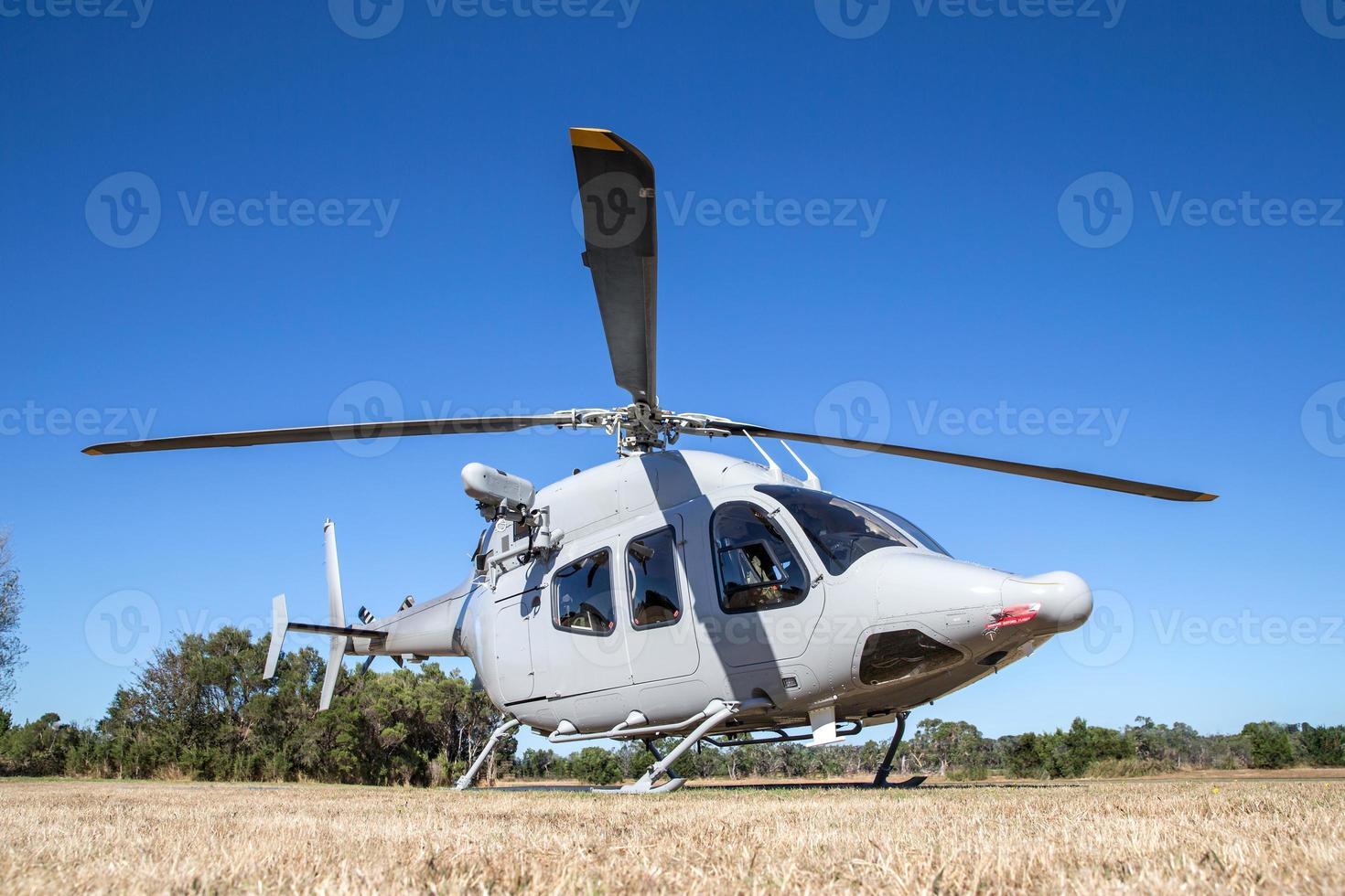 helicóptero militar moderno foto