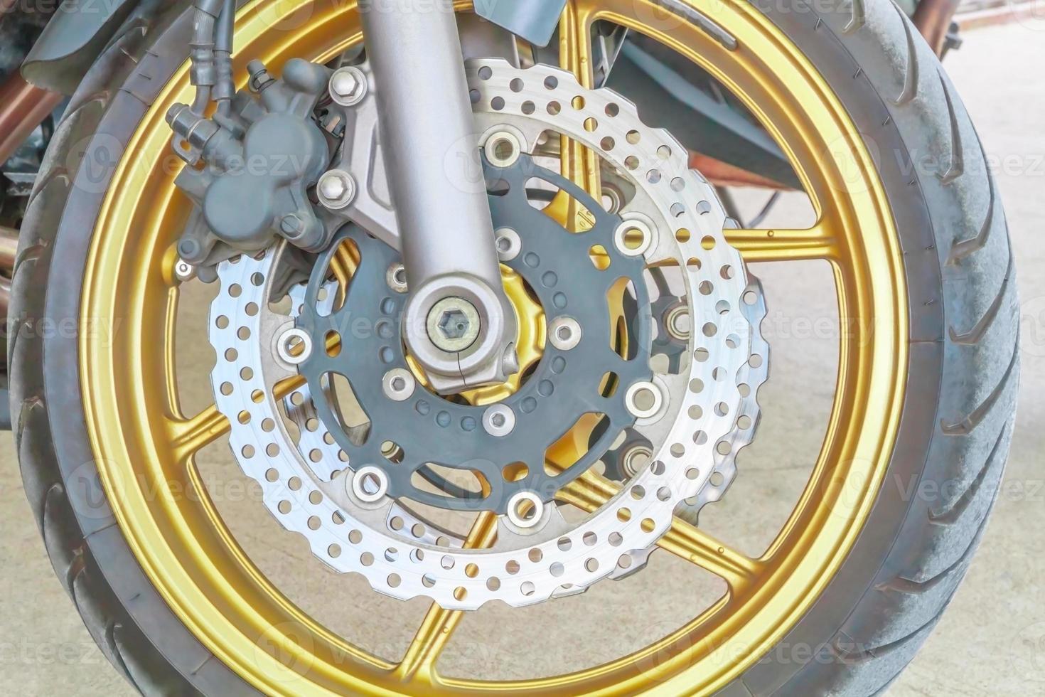 freios a disco para motociclos. foto
