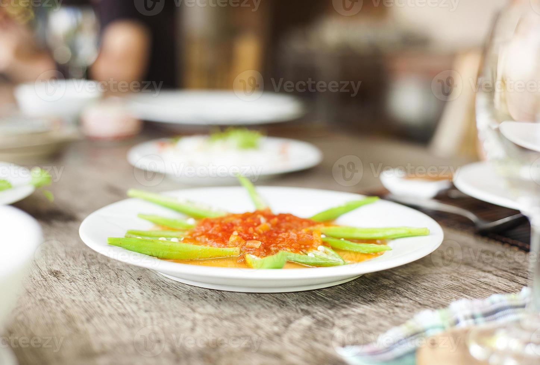 comida asiática vietnamita foto