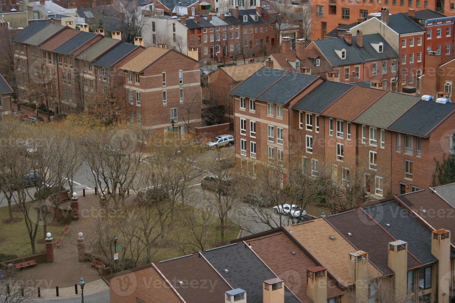 vista aérea do bairro 5 foto