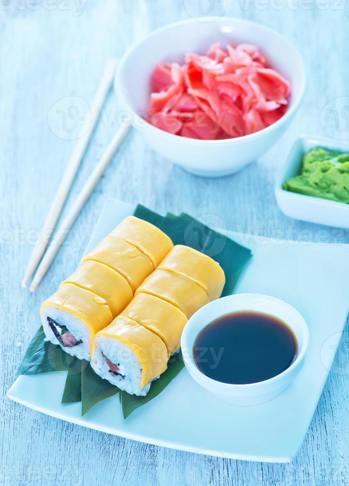 sushi fresco foto