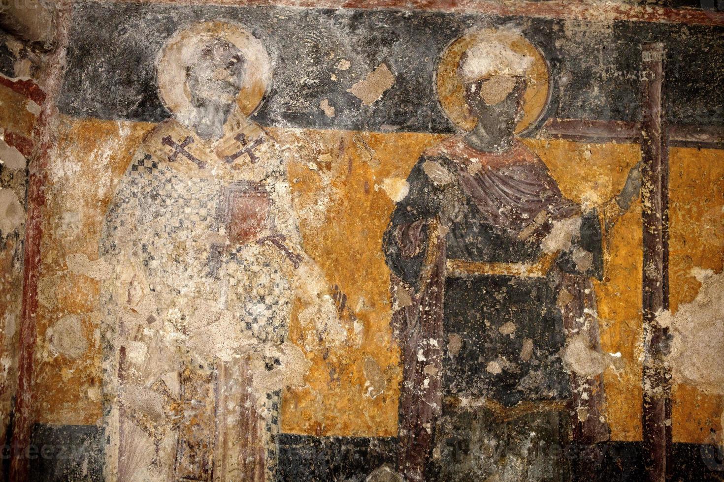 afresco bizantino foto