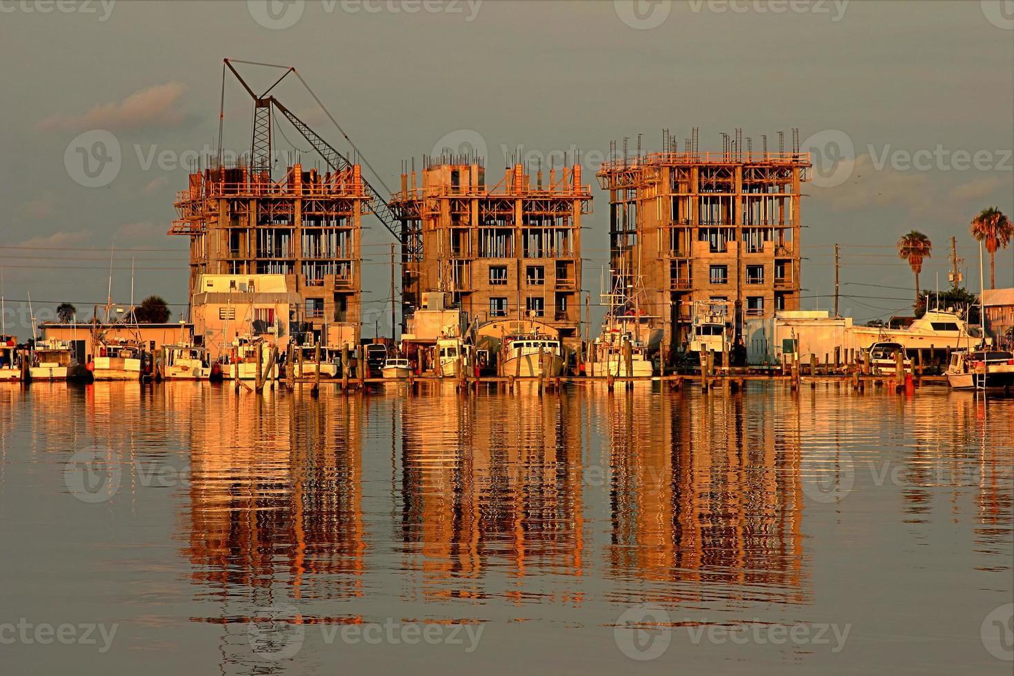 construção de praia foto
