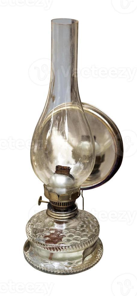 lâmpada de querosene vintage foto