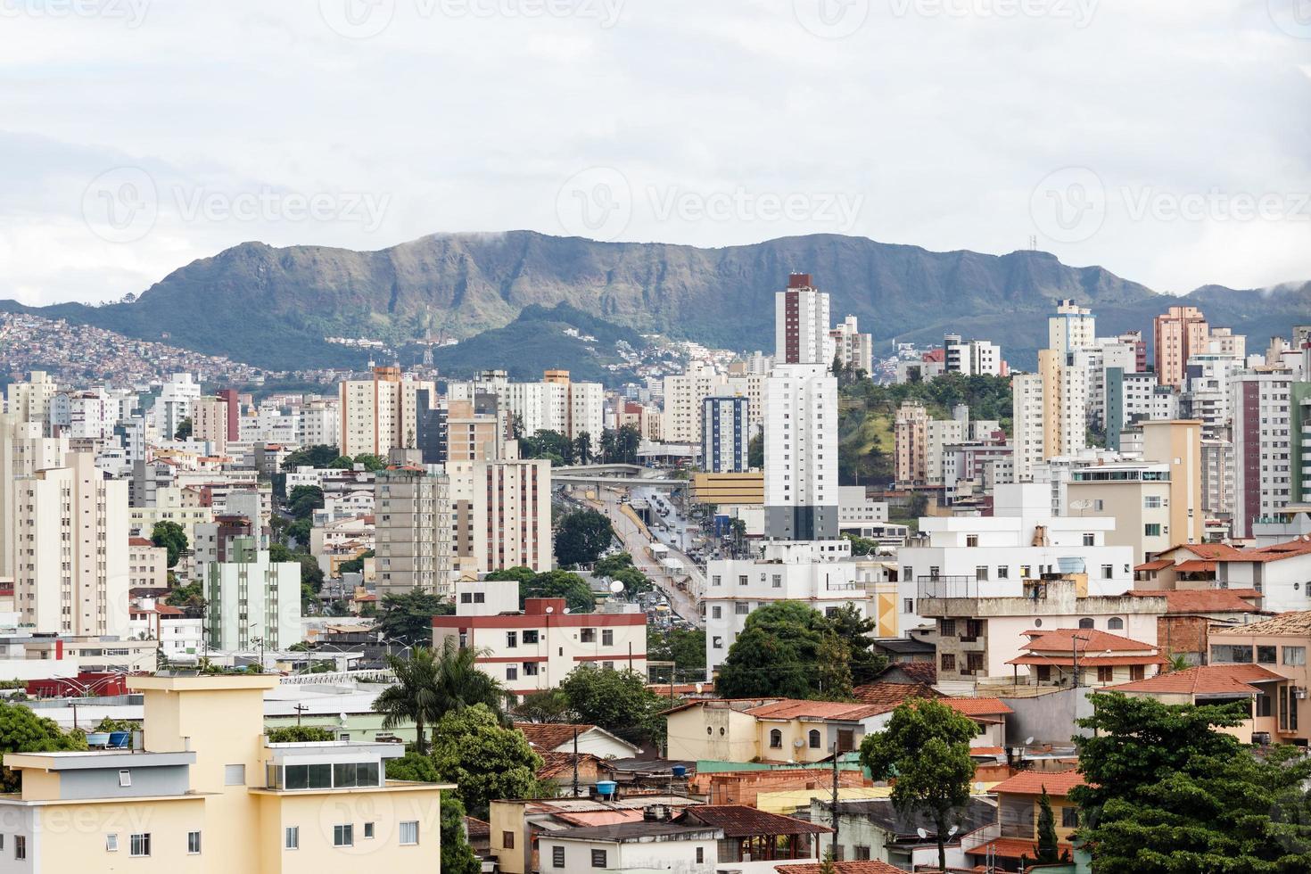 cidade de belo horizonte, estado de minas gerais, brasil foto