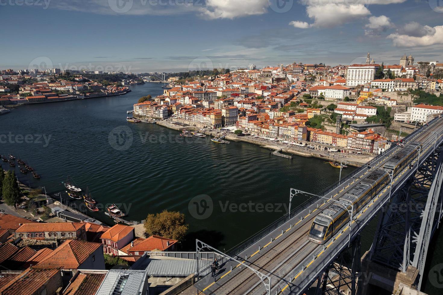 rio porto e douro foto