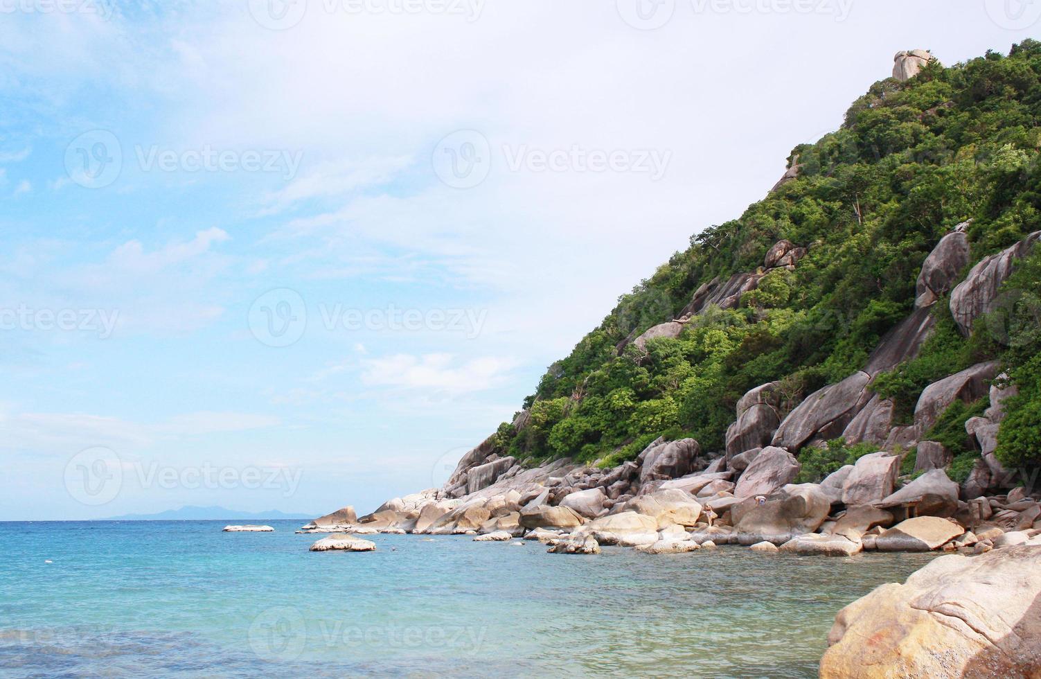 ilha tao, koh tao, surat thani tailândia foto