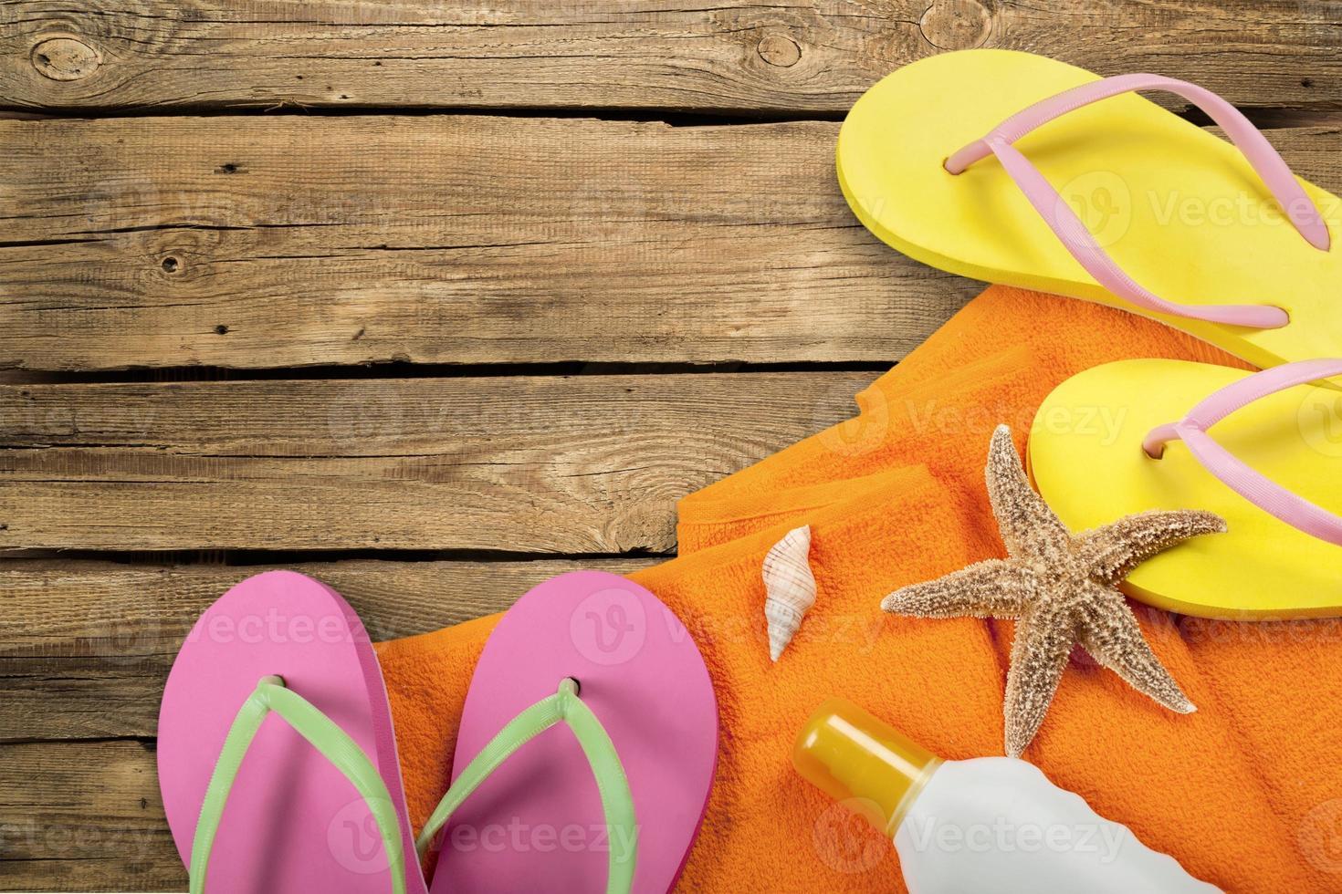 verão, praia, criança foto