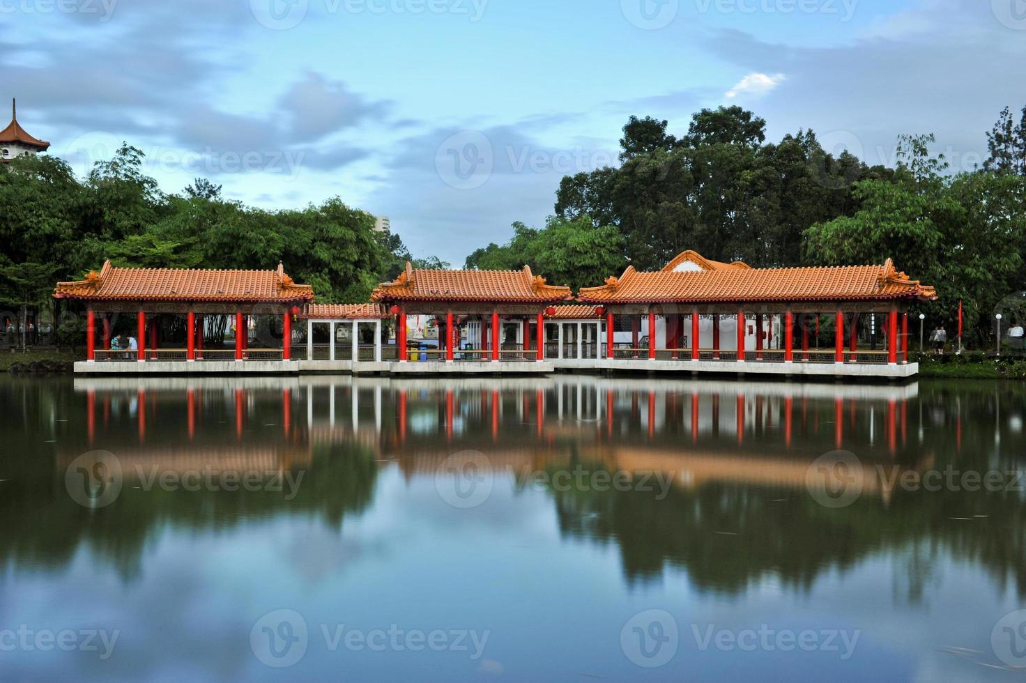 jardim chinês de cingapura foto