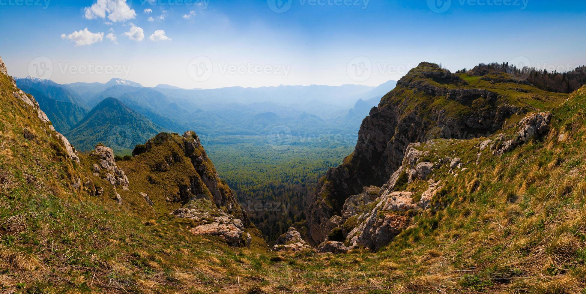dia de montanha verão foto