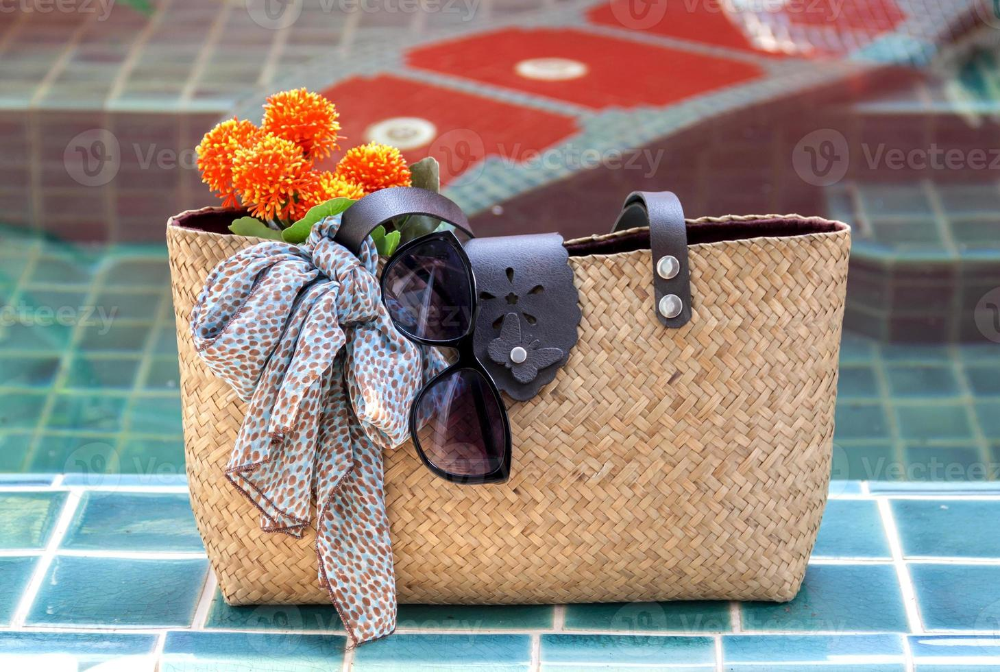 bolsa de verão foto