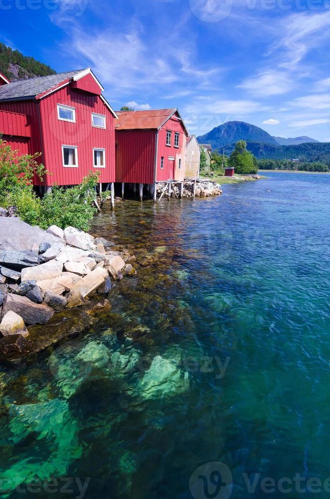 verão na noruega foto