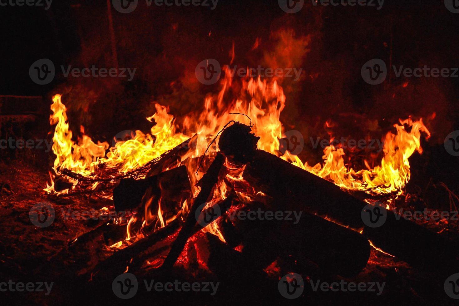 caixa de fogo da mola foto