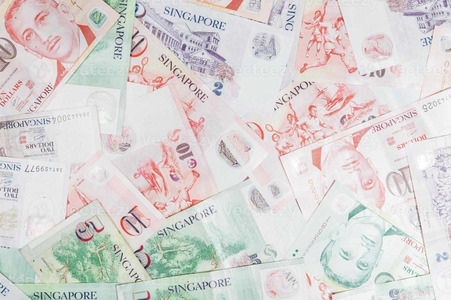 dinheiro de cingapura foto