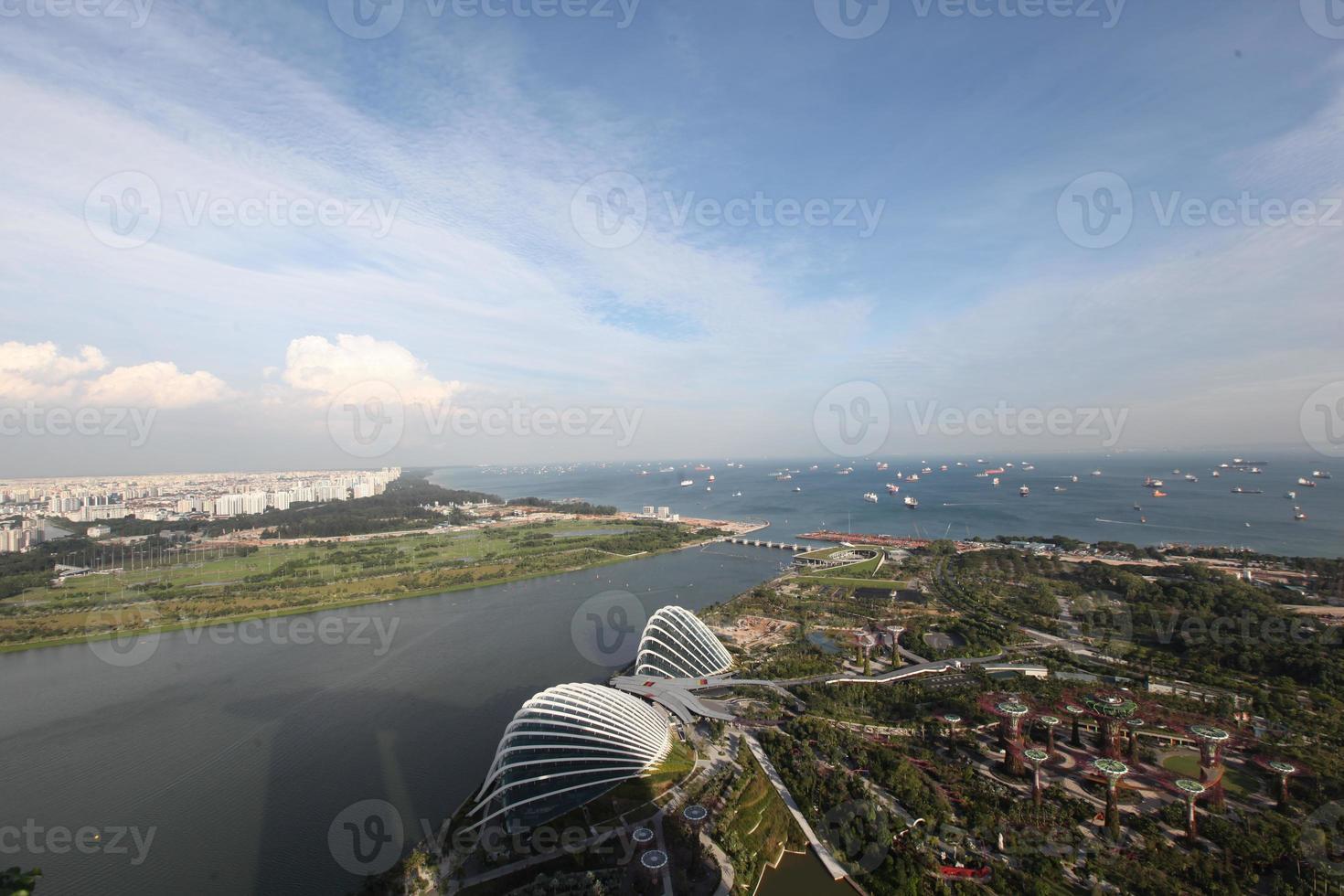 baía de cingapura foto