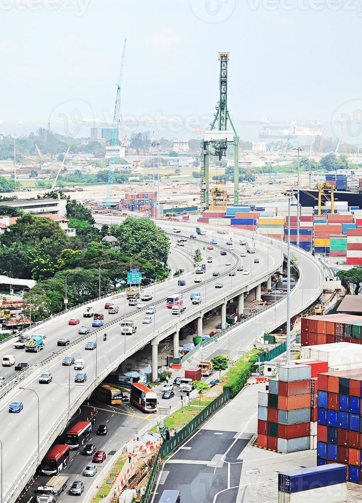 cingapura industrial foto