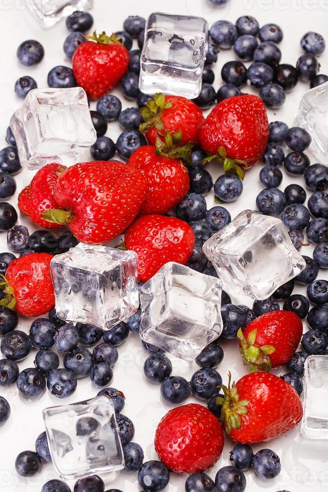 frutas naturais deliciosas foto