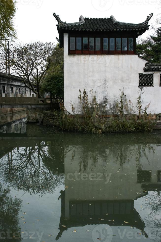 edifícios antigos de suzhou foto