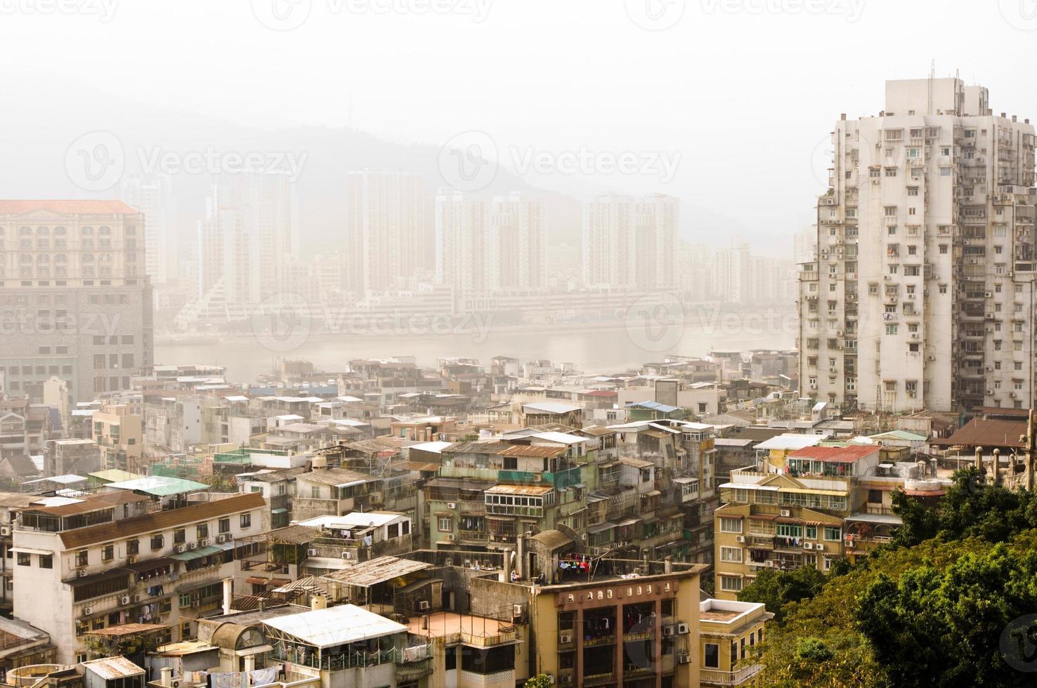 cidade da Ásia. macau foto