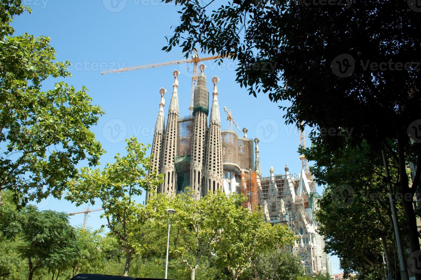 Basílica da sagrada família foto