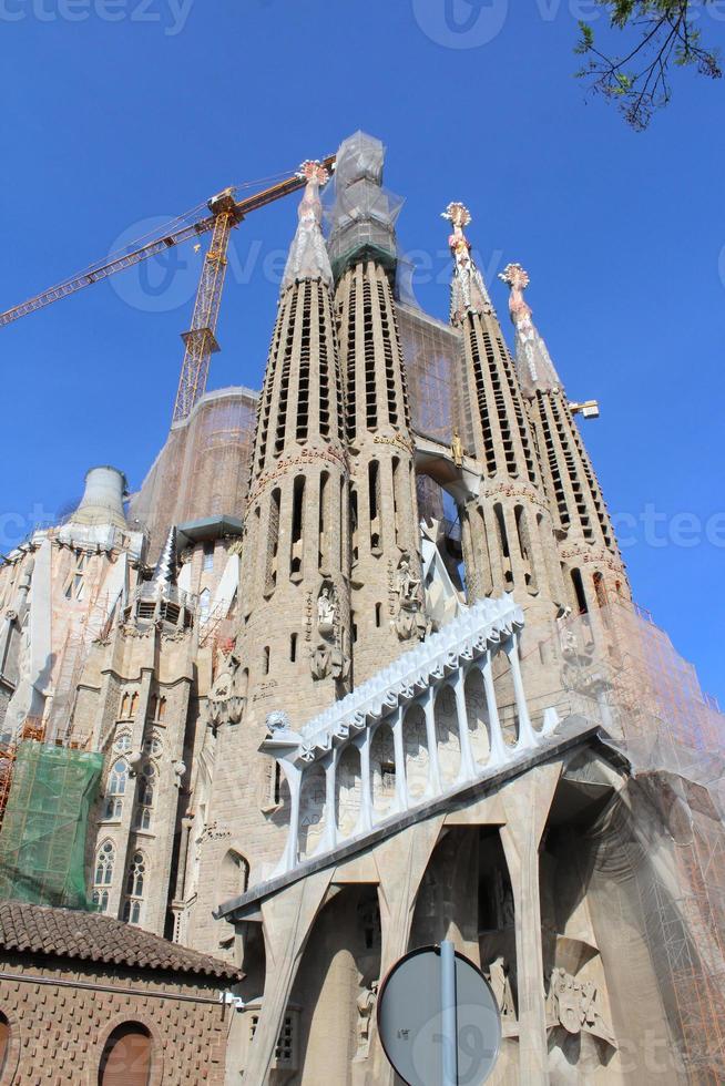 basílica da sagrada família, barcelona, espanha foto