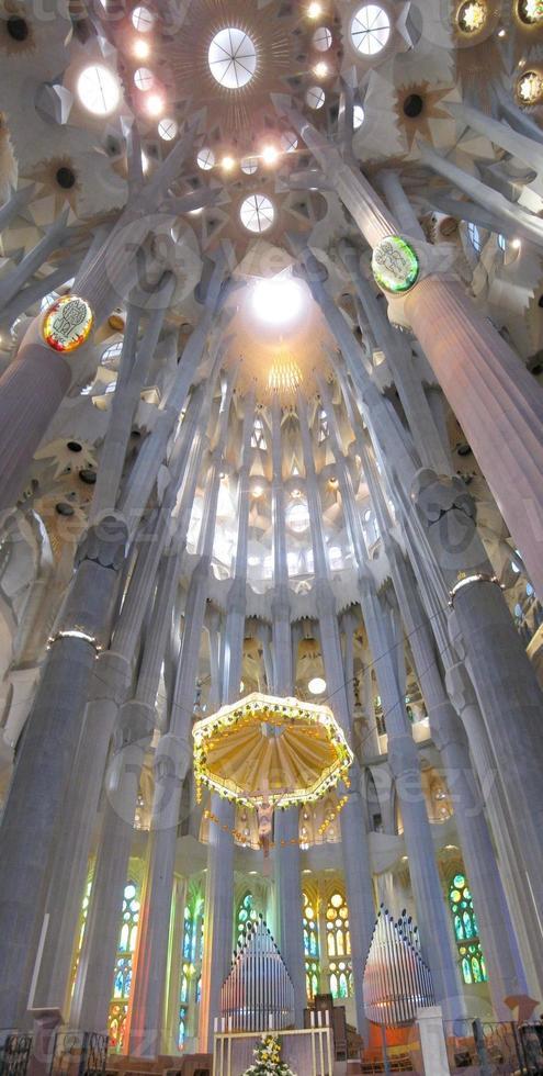 igreja da sagrada família em barcelona foto