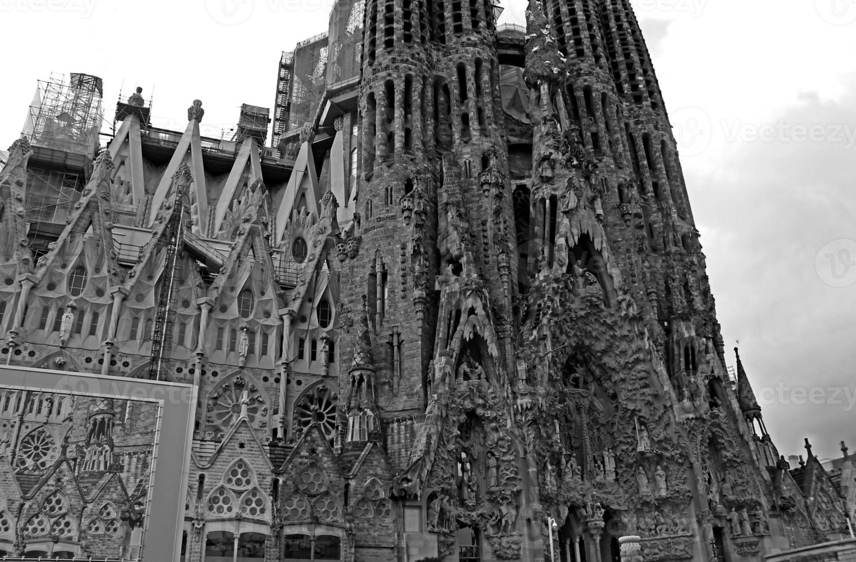 sagrada familia em barcelona foto