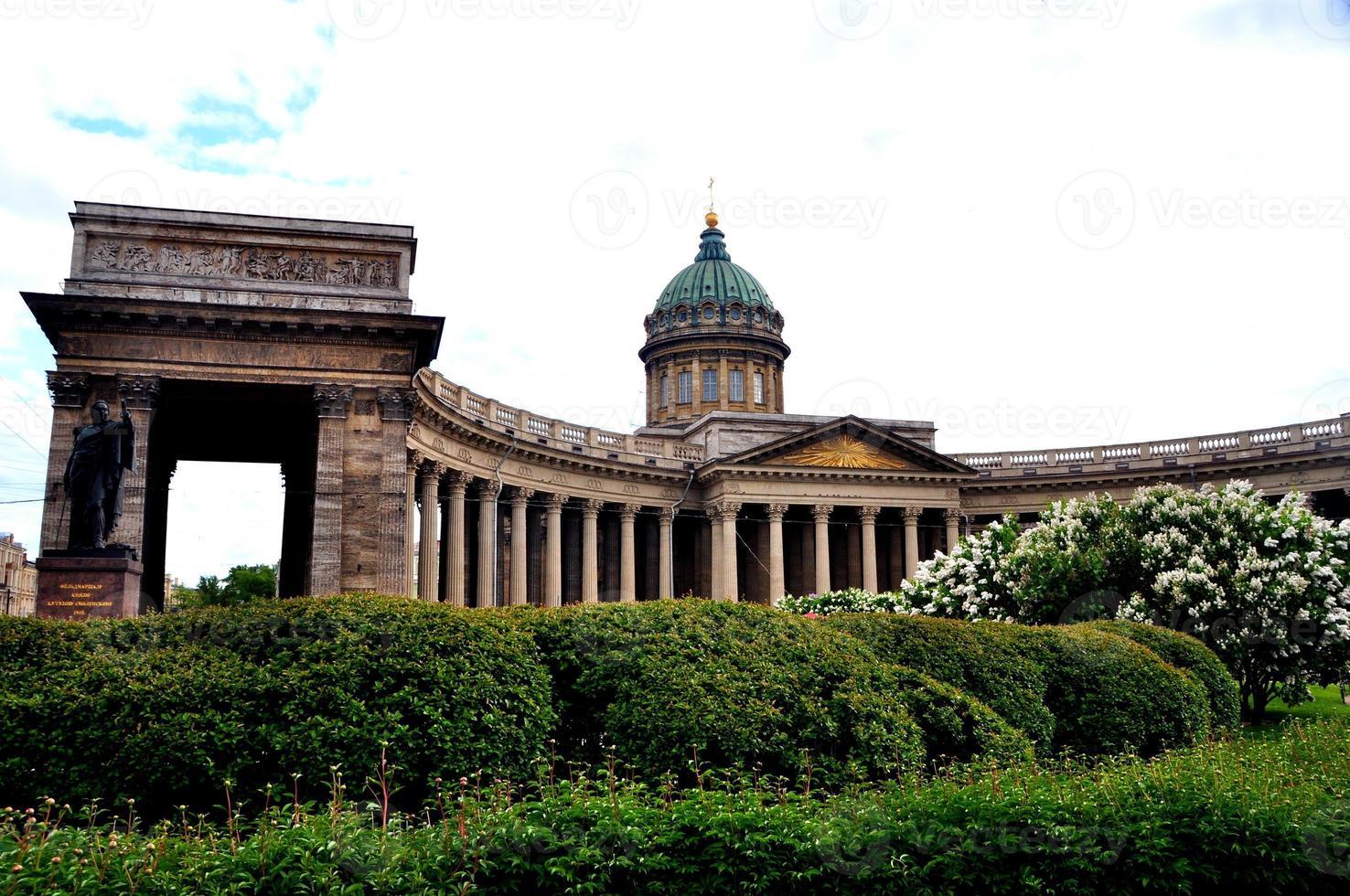 catedral de kazan, st. petersburg foto
