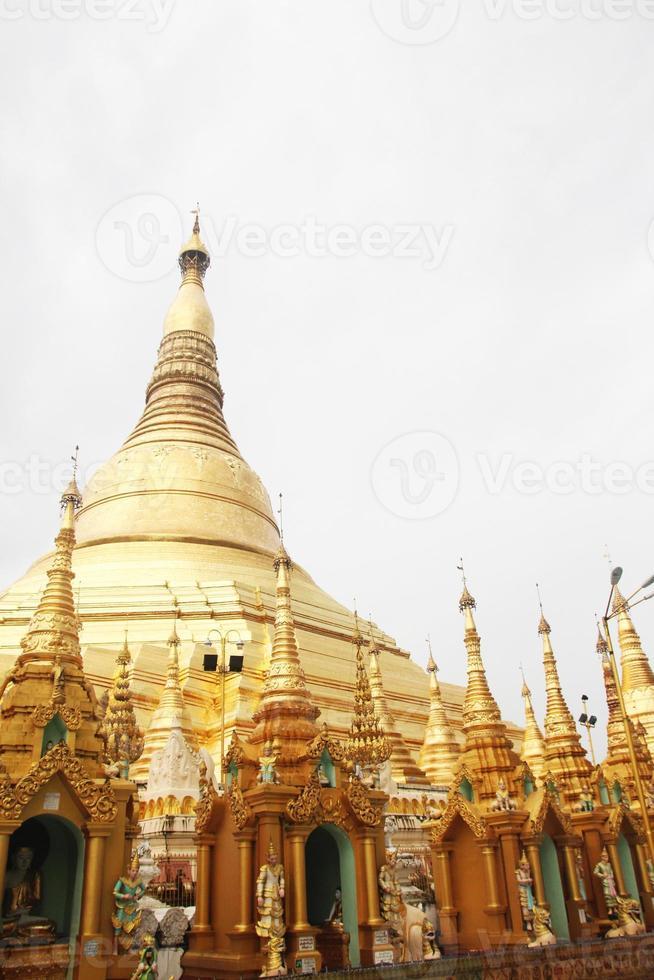 pagode de yangon shwedagon foto